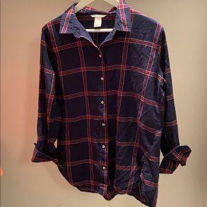 H&M Flannel Shirt size 12